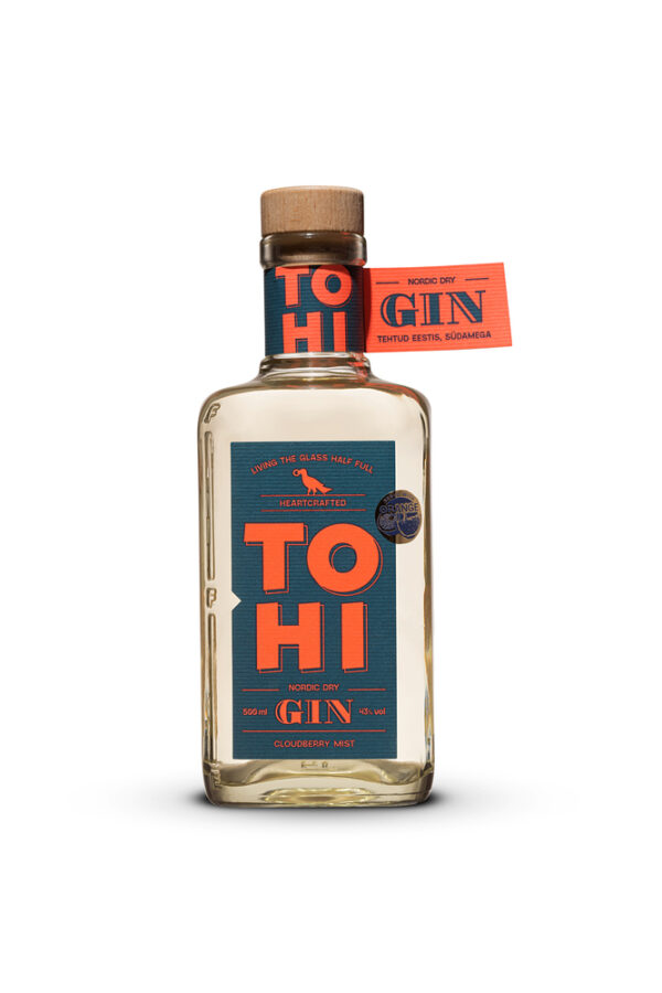 Tohi Cloudberry Mist Nordic Dry Gin