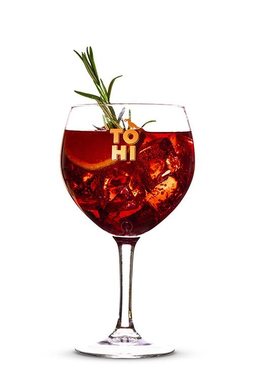 TOHI Aronia Infused Gin & Tonic