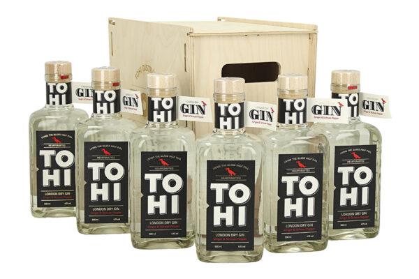 Puidust kast Tohi London Dry Gin