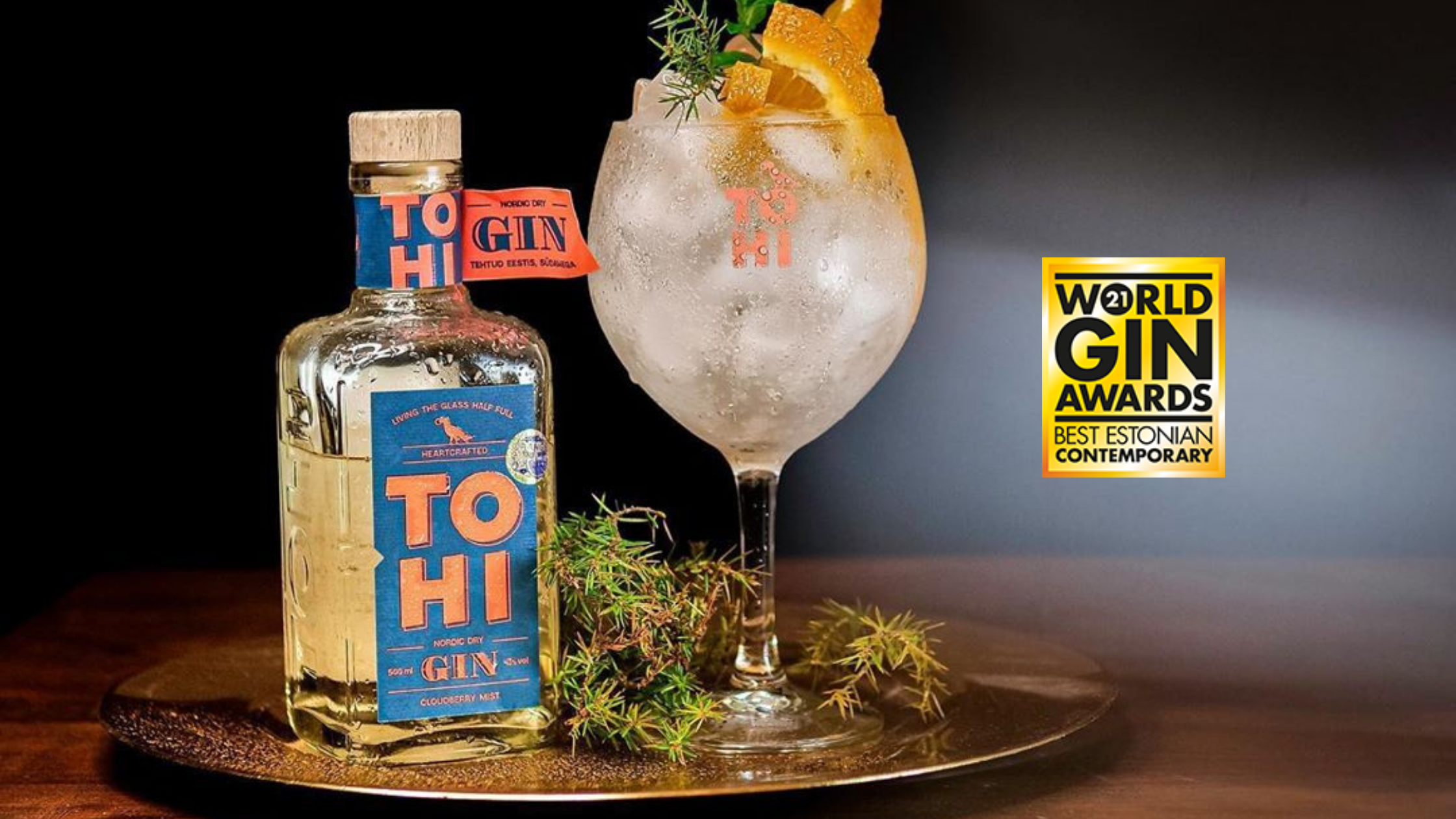 Tohi Cloudberry MIst Gin - World Gin Awards