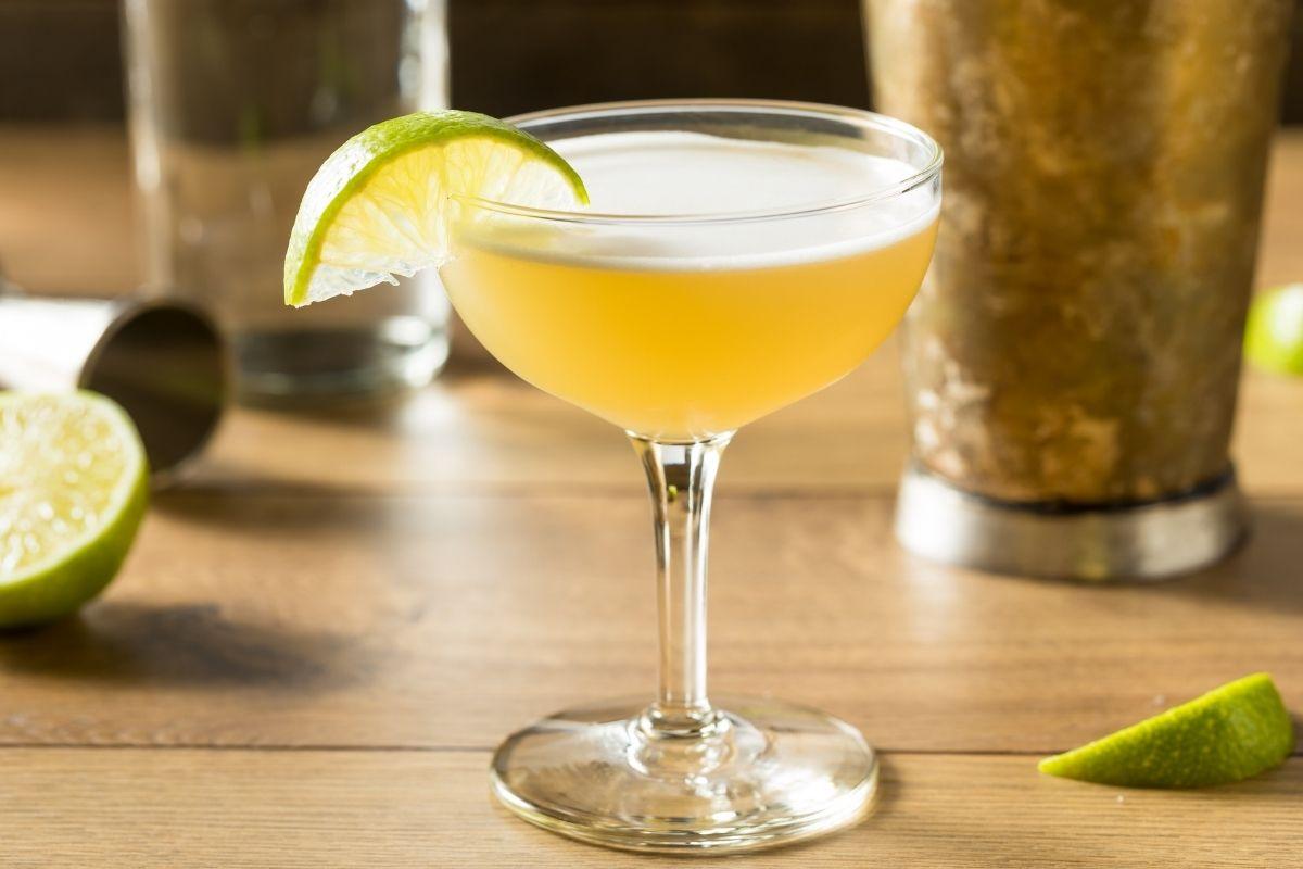 Tohi Gimlet cocktail navy strength gin
